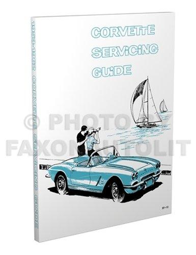 1953-1962 Corvette Reprint Servicing Guide Repair Shop Manual - Frame Reno Shop
