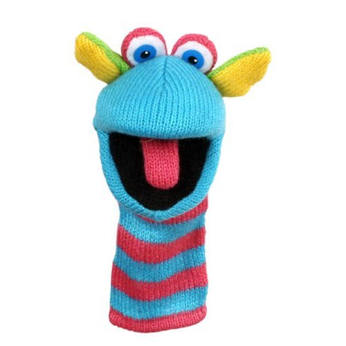 Price comparison product image Mini Knitted Scorch Finger Puppet
