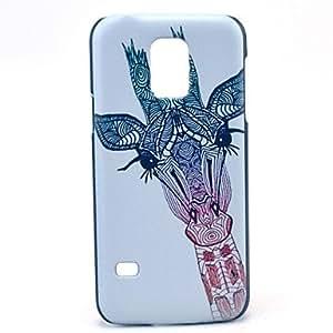Teléfono Móvil Samsung - Cobertor Posterior - Gráfico/Dibujos Animados/Diseño Especial - para Samsung Galaxy Mini S5 ( Multi-color , Plástico )