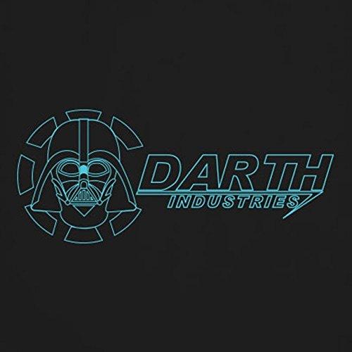 Darth Industries - Damen T-Shirt, Größe: L, Farbe: schwarz