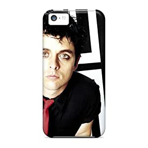 JonBradica Iphone 5c Shock Absorption Hard Phone Cover Unique Design High-definition Green Day Band Skin [DHq7605uifb]