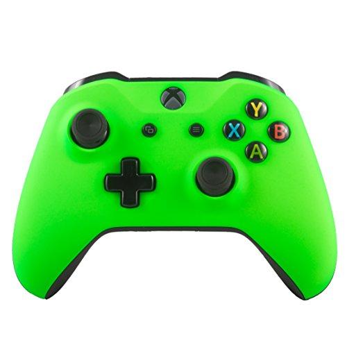 custom green xbox one controller - 2