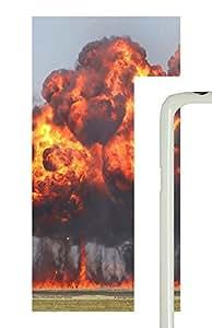 Samsung Galaxy S5 War Bomb Blast PC Custom Samsung Galaxy S5 Case Cover White