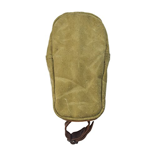 Durable Water Resistant Courier Saddle Bag Handmade by Hide & Drink :: Waxed Canvas