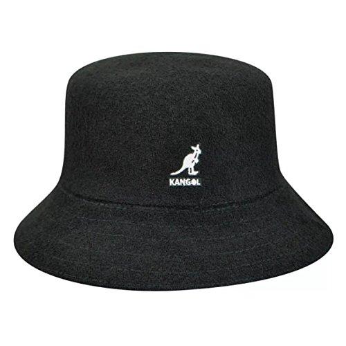 - Kangol Men's Bermuda Bucket, Black, X-Large