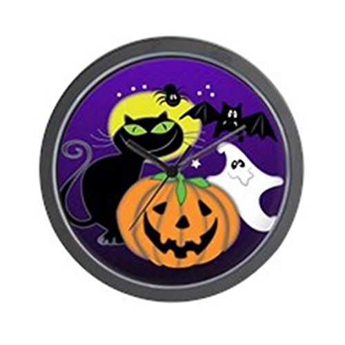 Cute Halloween Scene Wall Clock - Unique Decorative - unique