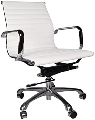 Amazon Com Eames Style Group Management Office Chair White Furniture Decor