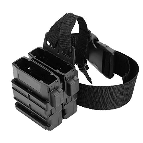 (VGEBY 2Pcs Tactical Magazine Pouch Bag Holster, Clip Magazine Pouch Holder Holster for Nerf Ammo Clip)