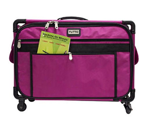 Tutto Machine On Wheels Large Pink - 22''L x 15''H x 12''D by Tutto