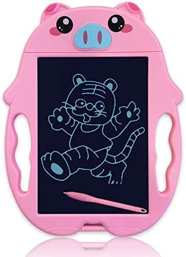 Amazon Com Kuratu Girls Toys Lcd Writing Tablet Doodle Board Electronic Drawing Pads For Kids Computers Accessories