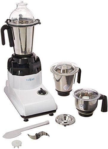 Tabakh D-Lite Indian Mixer Grinder | 3-Jar | 750 Watts | 110-Volts (USA & Canada)