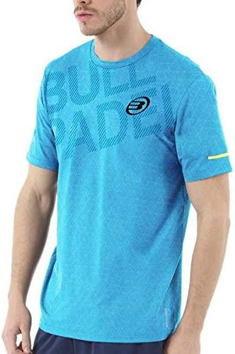 Bull padel Camiseta BULLPADEL IRATE Azul Turquesa: Amazon.es ...