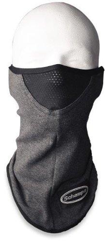 Schampa Stretch Cotton Lycra Facemask (Dark Gray, One Size)