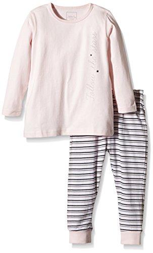 NAME IT Baby-Mädchen Zweiteiliger Schlafanzug NITNIGHTSET M G NOOS, Gestreift, Gr. 92, Mehrfarbig (Ballerina)