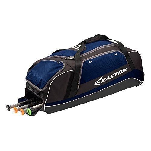 イーストン 車輪付き大容量キャッチャーバッグ 新モデル E500C [並行輸入品] B014F5XDNQ ネイビー ネイビー