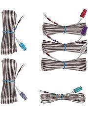 Cable de altavoz AH81-02177B para Samsung HT-H4500 HT-J4500 HT-J4530 HT-J5150 HT-J5100K HT-J5500 HT-J5500K HT-J5550K HT-J5550WK HT-H7730WK M HT-J7 500W HT-H7500WM HT-J7750W HT-H7750WM Sistema de cine en casa