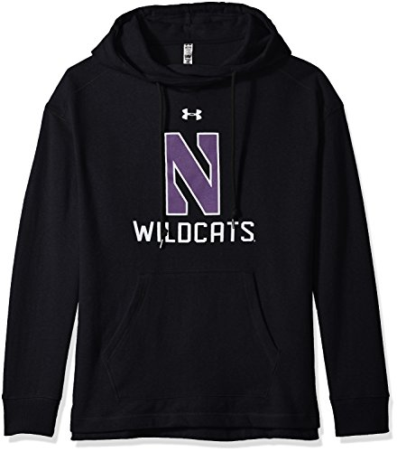 rthwestern Wildcats Women's Pull-Over Fleece Hoodie, Small, Black ()