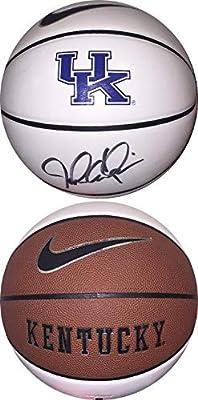 John Calipari signed Kentucky Wildcats Logo Nike Basketball- Hologram #CC08648 - JSA Certified - Autographed College Basketballs