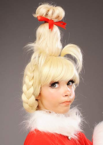 Magic Box Womens The Grinch Style Blonde Cindy Lou Que ...