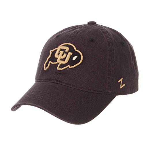 Buffalo Hat Adjustable - NCAA Colorado Buffaloes Men's Scholarship Relaxed Hat, Adjustable Size, Team Color