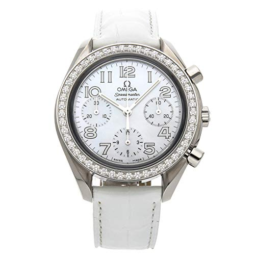 Omega Speedmaster Mechanical (Automatic) Mother-of-Pearl Dial Womens Watch 3835.70.36 (Certified Pre-Owned)