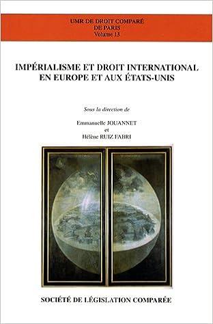 Impérialisme et droit international en Europe et aux Etats-Unis pdf, epub ebook
