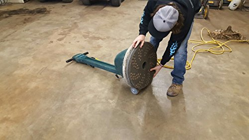 Concrete DNA Resin Satellite Pads | Double Sided Diamond Floor Polishing Pads | 16'', 50 Grit by Concrete Floor Supply (Image #1)