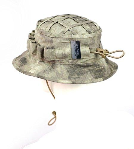12ad1fe463b ZAPT Boonie Hat Military Camo Cap Hunter Sniper Ghillie Bucket Hats ...