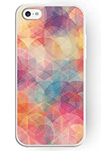 SPRAWL EYE ATTRACTIVE Hard Plastic Case Cover Shell for Apple iPhone 5C-- Colorful Circle Pattern