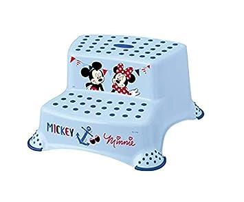 Keeeper Mickey Kinder-Toilettensitz mit Anti-rutsch-Funktion light blue