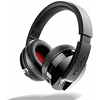 b0c569c6717 Focal Listen Wireless Over-Ear Headphones with Microphone (Black)