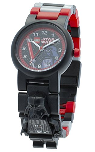- LEGO Star Wars Darth Vader Kids Buildable Watch with Link Bracelet and Minifigure