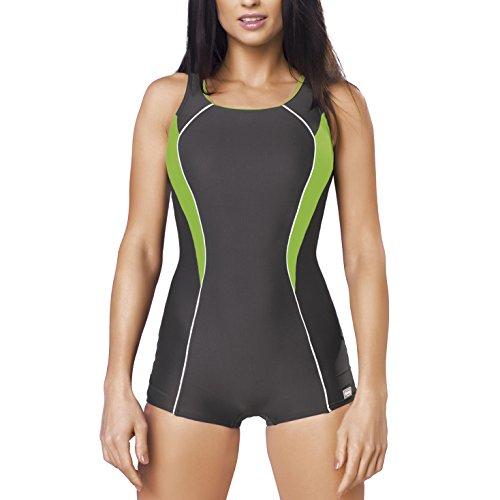 GWINNER Women's Isabel Boyleg One Piece Athletic - Uk Swimwear Racing