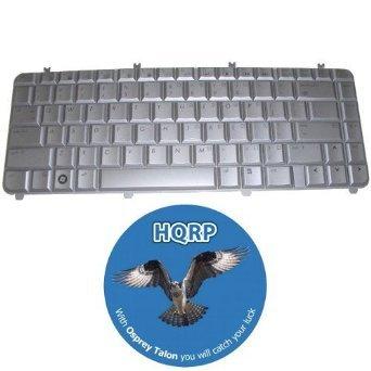 DV5-1159SE HQRP Laptop Keyboard for HP Pavilion DV5-1150US DV5-1157CA DV5-1150 Notebook Replacement plus HQRP Coaster DV5-1140US