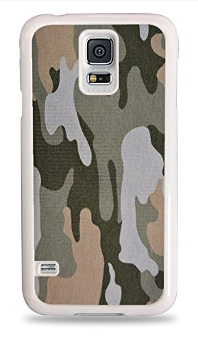 Camoflage White Hardshell Case for Samsung Galaxy S5