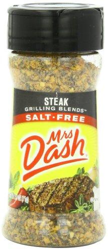Mrs. Dash, Grilling Blends, Steak, 2.5 Ounce (Pack of (Free Steak)