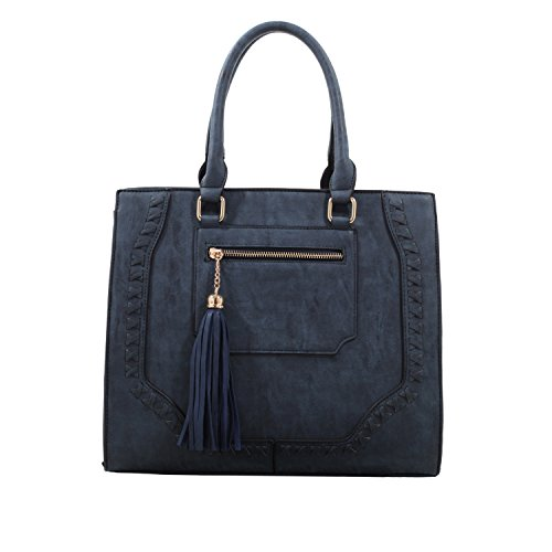by Sophisticated Blue K Indigo Handbags Mia MKF Mia Farrow Designer Collection Crossbody YqqFTRx