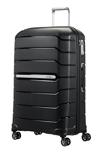 (SAMSONITE Flux - Spinner 75/28 Expandable Hand Luggage, 75 cm, 121 liters, Black)