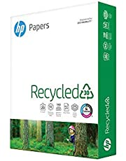 HP Printer Paper 8.5x11 Recycled30 20 lb 30% postconsumer recycled 1 Ream 500 Sheets 92 Bright Made in USA FSC Certified Copy Paper HP Compatible 112100R