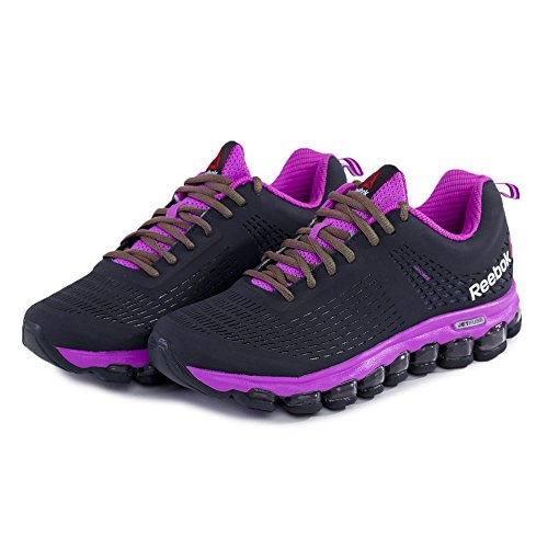 Reebok - Zjet Run Lux - M48068 - Color: Negro-Rosa - Size: 35.5