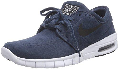 NikeSTEFAN JANOSKI MAX L - Zapatillas Unisex adulto Azul / Negro / Blanco (Squadron Blue / Black-White)