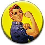 Rosie The Riveter Badge by RetroBadge