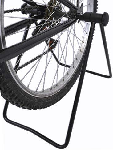 Lumintrail自転車Tripleホイールハブ折りたたみ式ユーティリティスタンド調整可能自転車修復駐車場ホルダースチールフレーム