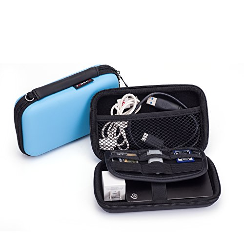 3fdc250e8798 Electronics Kit Carry Pouch Gadget Accessories Organizer Storage Bag Case  for U-Disk Headset USB Drive Cable Power Charger (Medium