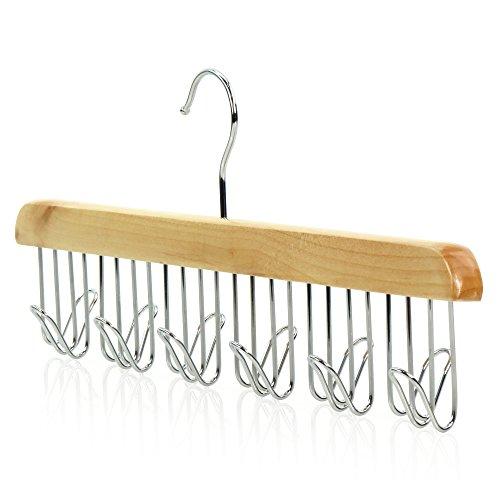 Hangerworld Wooden Premium Belt Hanger - Also For Ties, Jewellery, Accessories etc. for sale fWEi87VW