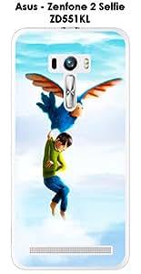 Para Asus Zenfone ZD551KL Persévérance 2 Selfie design