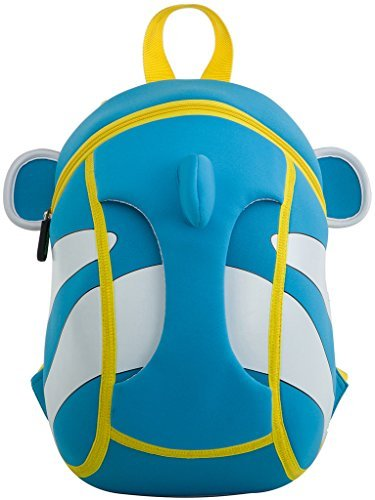 Kids Backpack, icci [Cute] Kids Backpacks Girls Boys Backpacks Best [School] [Hiking] [Travel] Sidekick Bags, Cute Fish Pack Backpacks, Blue