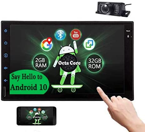 Andriod 10.0 Octa Core Car Stereo with Bluetooth