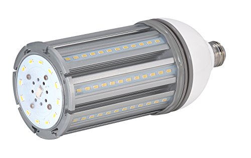 Hid Series - Satco S9392 Series 36 watt - LED HID Replacement; 5000K; Medium Base; 100-277 Volts, 4,800 Lumens, 150 Equivalent