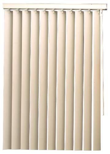 54 x 60 1 x 1 x 1 15.34 fl English oz Plastic Designers Touch 2471569 3.5 PVC Vertical Blinds Alabaster